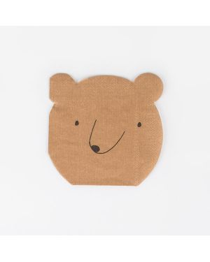 Meri Meri - Bear Napkin