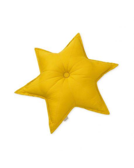 CAM CAM COPENHAGEN - Star Cushion - Mustard