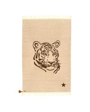 VARANASSI - Tiger Gypsy Rug - Gris