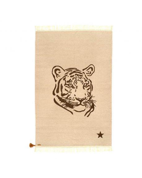 VARANASSI - Tapis Tigre Gypsy - Gris