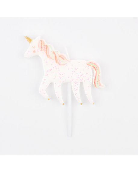 Meri Meri - Unicorn Candle