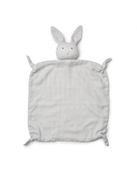 Liewood - Rabbit Cuddle Cloth Agnete - Organic Cotton - Grey