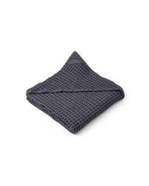 Liewood -Saga Hooded Towel - Grey
