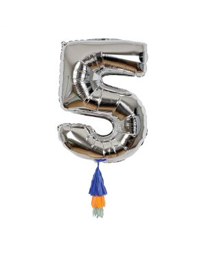 Meri Meri - Fancy Number Balloon 5