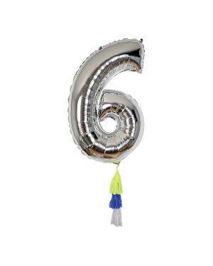 Meri Meri - Fancy Number Balloon 6
