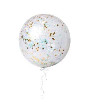Meri Meri - 3 Ballons Géants à Confetti - Irisé