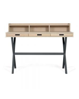 Harto - Hyppolite Desk - Florence Watine Grey