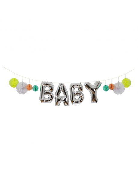 "Meri Meri - Guirlande Ballon ""Baby"""