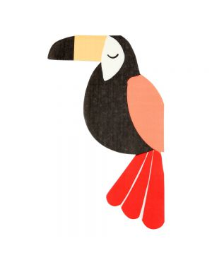 Meri Meri - Toucan Paper Napkins - Set of 20