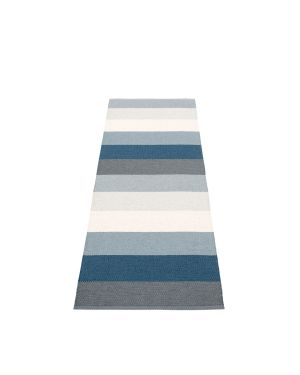 PAPPELINA - Design Plastic Rug Molly Ocean Grey - 4 sizes available