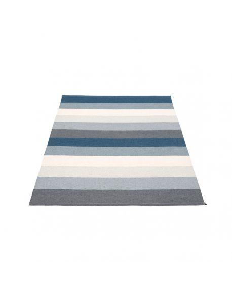 PAPPELINA - Tapis design en plastique Molly Ocean Grey 140 x 200 cm
