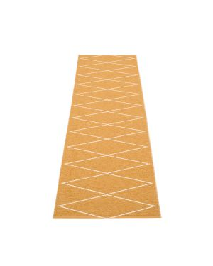 PAPPELINA - Design Plastic Rug Max Ochre- 5 sizes available