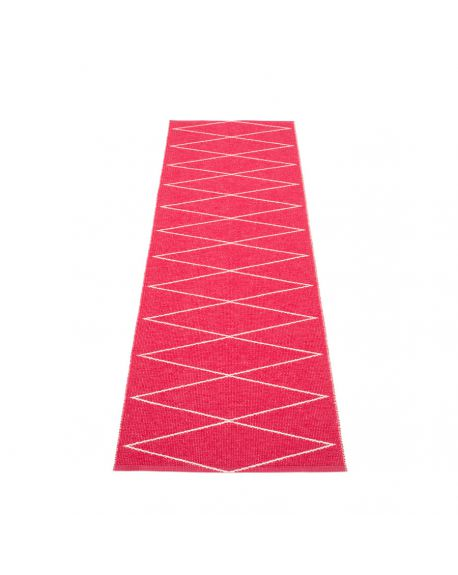 PAPPELINA - Design Plastic Rug Max Cherry- 5 sizes available