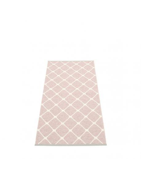 PAPPELINA - Tapis design en plastique Rex Rose Pâle - 5 tailles disponibles