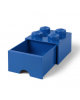 LEGO - STORAGE BOX DRAWER - 4 studs / blue