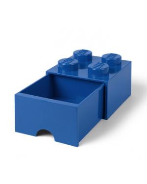 LEGO - STORAGE BOX DRAWER - 4 studs - Blue