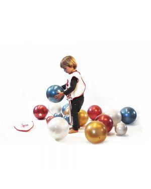 RATATAM - Ballon Vert Paillettes - 15 cm