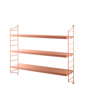 STRING POCKET - BOOKSHELF - Blush