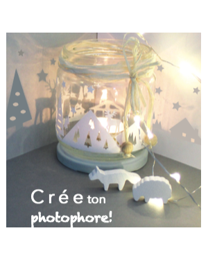 Happy Coffret - Crée ton photophore - DIY- Happy Go Lucky