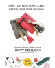 Happy Coffret - Crée ton petit porte-clés Rose - DIY- Happy Go Lucky