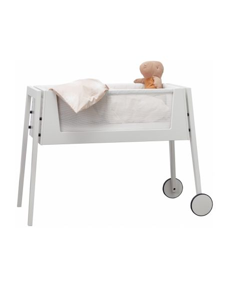 LEANDER - Co-sleeping Linea Bed White