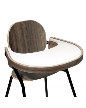 CHARLIE CRANE - Table Tray for in Walnut for TIBU Chair 'Black Edition'