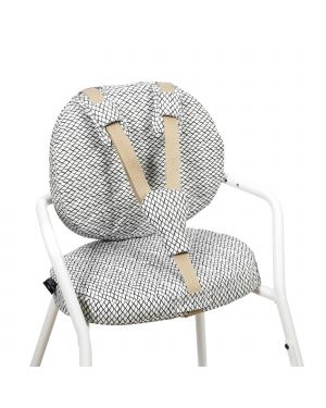 CHARLIE CRANE - Diamond B&W Cushions