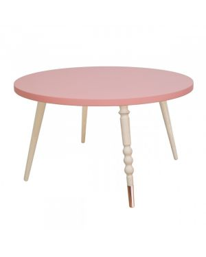 Jungle by jungle - Table d'appoint My Lovely Ballerine Ø 60 cm - Rose