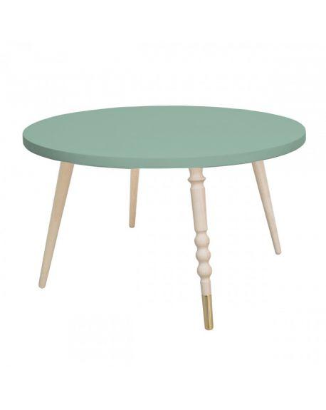 Jungle by jungle - Table My Lovely Ballerine Ø 60 cm - Green