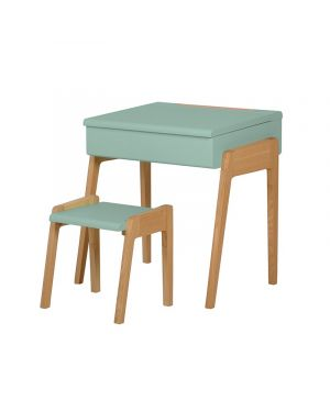 Jungle by jungle - Kid stool + desk - Mint