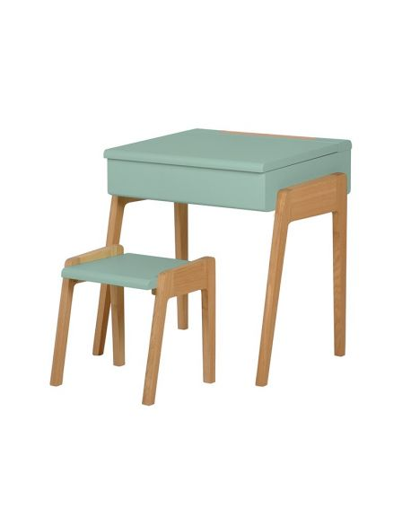 Jungle by jungle - Kid stool + desk - Mint