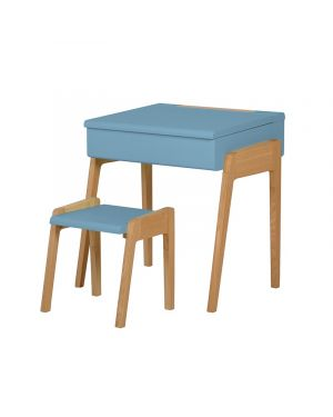 Jungle by jungle - Bureau + Tabouret My Little Pupitre - Bleu