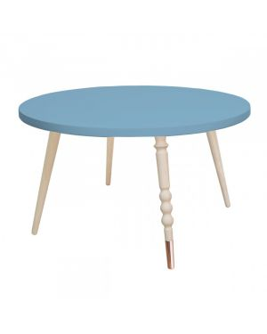 Jungle by jungle - Table d'appoint My Lovely Ballerine Ø 60 cm - Bleu
