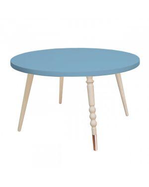 Jungle by jungle - Table My Lovely Ballerine Ø 60 cm - Bleu