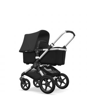 BUGABOO - FOX - Evolutive - Base ALU - Style set NOIR - Capote Noir