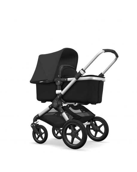 BUGABOO - FOX - Complete - Frame ALU - Style set BLACK - Canopy BLACK