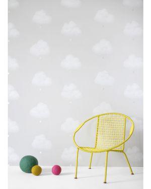 BARTSCH - WALLPAPER - Cotton clouds Grey
