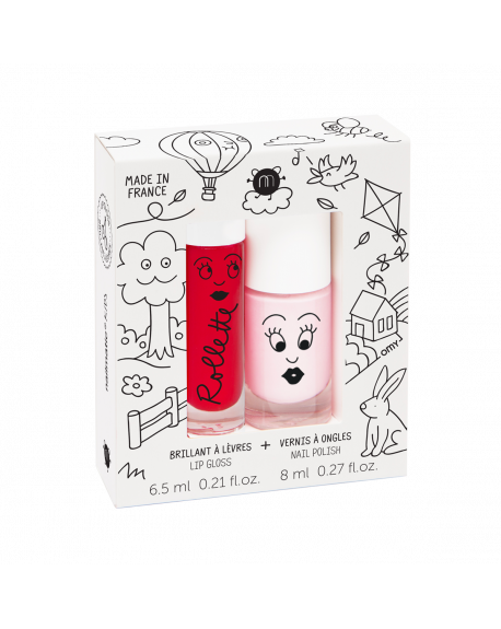 Nailmatic - Rollette Nail Polish Duo Set - Cottage