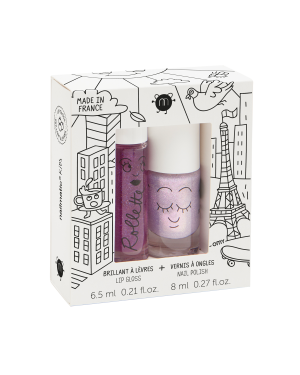 Nailmatic - Coffret duo rollette + vernis - Lovely City