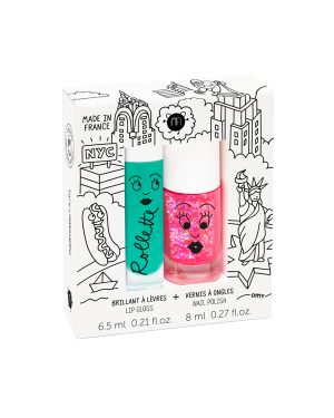 Nailmatic - New York - Rollette Nail Polish Duo Set