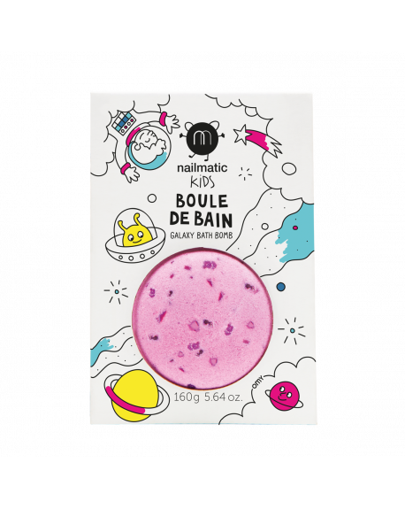 Nailmatic - Colouring and soothing bath bomb for kids - Cosmic