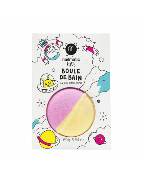 Nailmatic - Colouring and soothing bath bomb for kids - Spoutnik