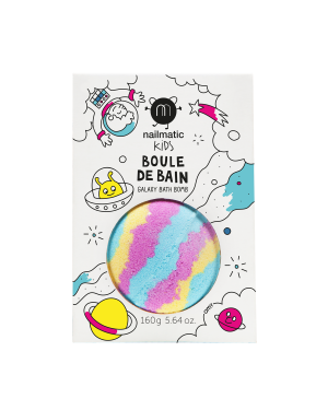 Nailmatic - Colouring and soothing bath bomb for kids - Galaxy