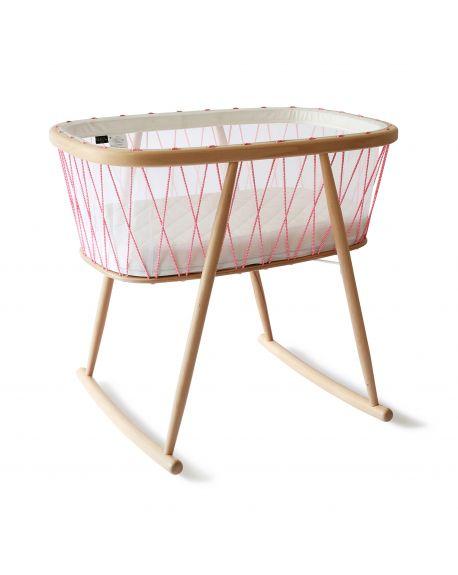 CHARLIE CRANE - KUMI Crib Mesh - Pink