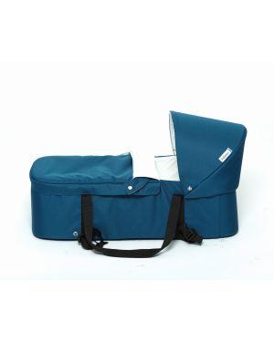 VIDIAMO - LIMO - Couffin pour poussette Evolutive - Bleu Pétrol