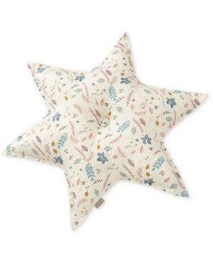 CAM CAM COPENHAGEN - Star Cushion - Pressed Leaves Rose