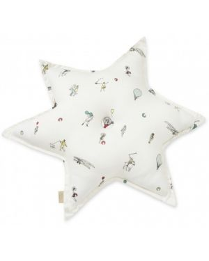 CAM CAM COPENHAGEN - Star Cushion - Holiday