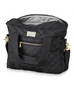 CAM CAM COPENHAGEN - Changing Bag - Middle - Noir