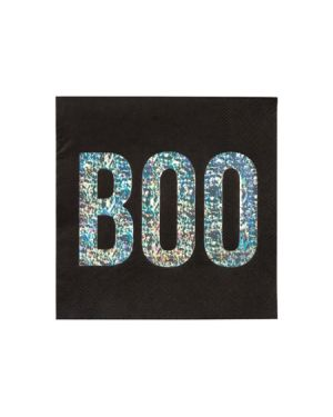 Meri meri - Serviettes en papier Boo - Set de 16