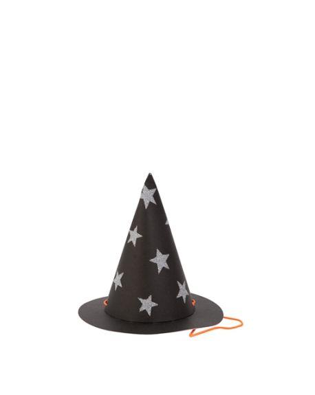 Meri Meri - Mini chapeaux de sorcière - Pack de 8
